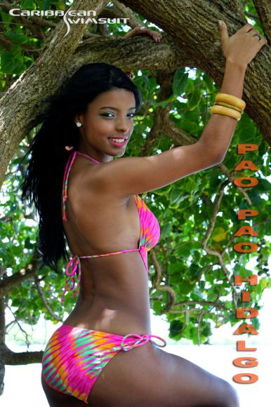 Pao Pao Hidalgo 02 /Carribean Swimsuit / Antonio Lugardo